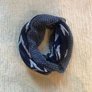 IKAT PATTERNED INFINITY SCARF